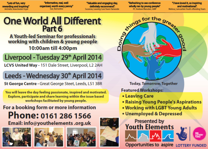 events for unemployed in manchester