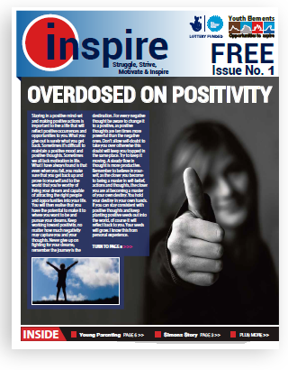 Inspire newspaper written by young adults