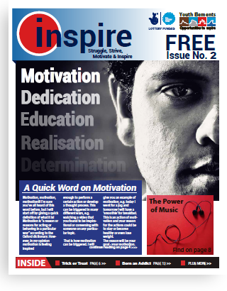Inspire newspaper written by young people